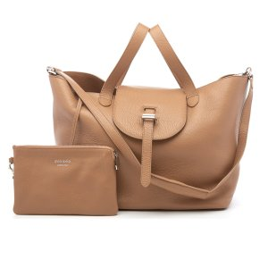 meli melo Women's Thela Tote Bag - Light Tan - Free UK Delivery over £50