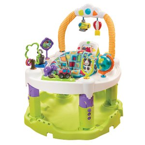 Evenflo ExerSaucer Triple Fun World Explorer Activity Center