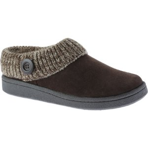 Womens Clarks Knit Collar Clog Slipper - FREE Shipping & Exchanges