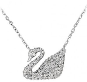 Dealmoon exclusive! $64.99 (reg. $99)Swarovski Swan Pendant