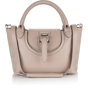 meli melo Women's Halo Medium Tote Bag - Taupe - Free UK Delivery over £50