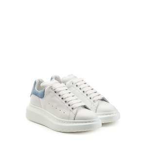 Leather Sneakers  from ALEXANDER MCQUEEN | Luxury fashion online | STYLEBOP.com