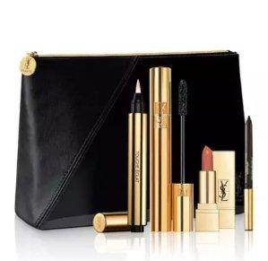$64Saint Laurent Limited Edition Essential Makeup Set @ Bergdorf Goodman