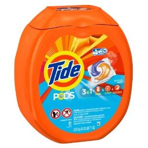 Tide Pods Laundry Detergent, Ocean Mist, 81 Loads | Jet.com