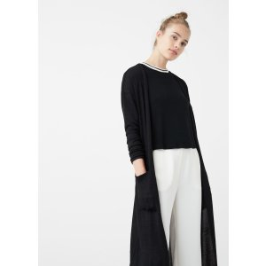 Flecked cardigan - Women | MANGO USA
