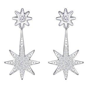 Fizzy Pierced Earring Jackets - Jewelry - Swarovski Online Shop