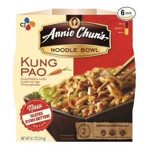 Annie Chun's Noodle Bowl, Kung Pao, 8.5 Ounce (Pack of 6)