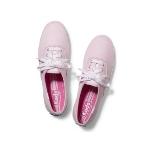 Women - CHAMPION STRIPED LACE - Light Pink | Keds