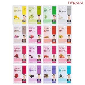 $8.95 Dermal Korea Collagen Essence Full Face Facial Mask Sheet (16 Combo Pack)