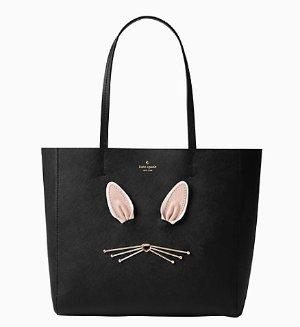 $162(原价$358)kate spade 萌兔手提包
