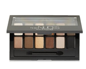 Maybelline New York Eyeshadow Palette, 0.34 Ounce, The Nudes