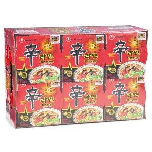 Nongshim Shin Bowl Noodle Soup 12 x 3.03 oz.