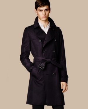 $798(Org. $1995) Burberry Kensington Long Trench Coat @ Saks Fifth Avenue