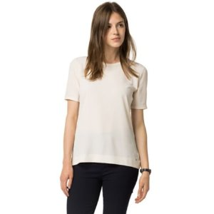 Back Button Tee | Tommy Hilfiger USA