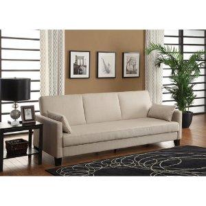 降价热卖!$189DHP Vienna 多功能沙发 带2个枕头