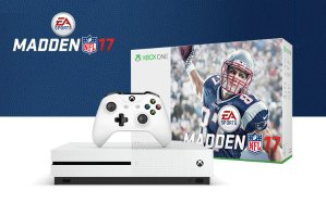 As low as $349 Xbox One S Madden NFL 17 Bundle (1TB) w/ 4k UHD Movie and Wireless Controller