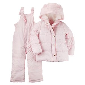 Baby Girl Snowsuit Set   Carters.com