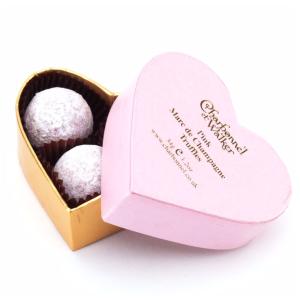 Charbonnel et Walker - Pink Marc de Champagne Mini Hearts <br> - saks.com