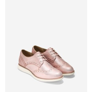 OriginalGrand Wingtip Oxfords in Canyon Rose Gold