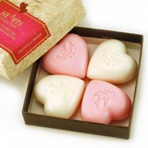Pre De Provence Heart Soap Gift Box