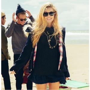 Girls Sleeveless Cowl Neck Tunic Sweater | Girls Tops | HollisterCo.com
