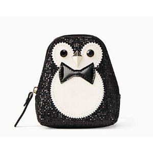 clifton lane penguin coin purse