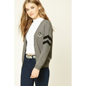 Patch Graphic Cardigan