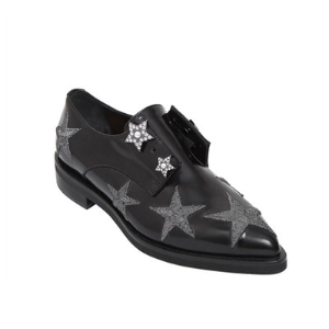COLIAC - 20MM STARS PIERCING LEATHER SHOES