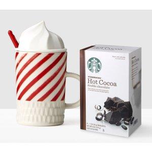 Whip Top Mug and Cocoa Gift Set