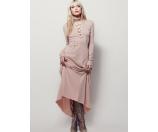 Free People Psychomagic Knit Dress Rose - 6pm.com