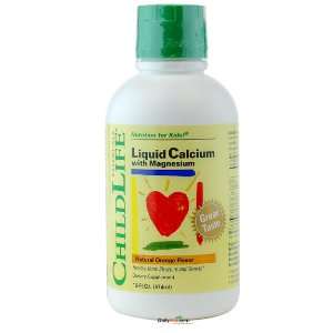 ChildLife Liquid Calcium with Magnesium 16 Fl.Oz - Natural Orange Flavor