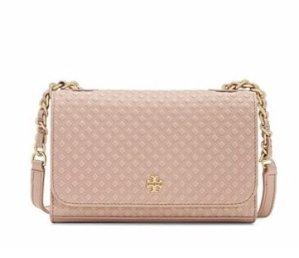 As Low As $199 MARION EMBOSSED SHRUNKEN SHOULDER BAG @ Tory Burch