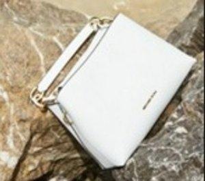 From $134.25 MICHAEL Michael Kors Portia Large Saffiano Leather Shoulder Bag