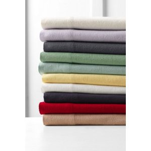 Portuguese 5-ounce Flannel Bedding from Lands' End