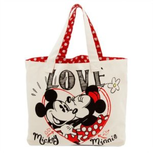 Only $12!Mickey and Minnie Mouse Canvas Tote
