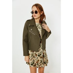 Coat With Bomber Detail OU0712