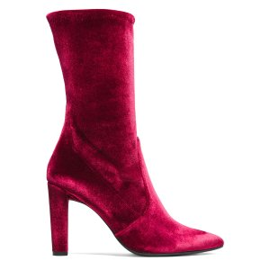Clinger Mid-Calf Booties - Shoes   Shop Stuart Weitzman
