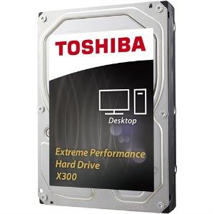 $169.98 Toshiba X300 HDWE160XZSTA 6TB Internal Hard Drive
