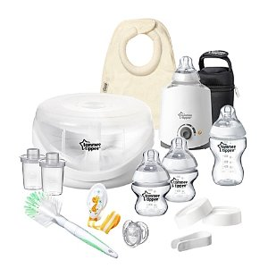 $39Tommee Tippee Closer to Nature All-In-One Newborn Gift Set