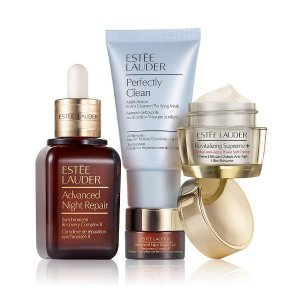 Estee Lauder Global Anti-Aging Repair Serum + Moisturizer = Beautiful Skin | Dillards