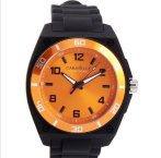 $17.99 Caravelle New York Men's 45A112 54 mm Analog Display Japanese Quartz Black Watch