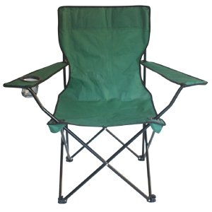 Garden Treasures Green Steel Camping Chair