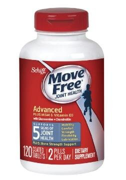 $20.79 Move Free Advanced Plus MSM and Vitamin D3, 120 Count