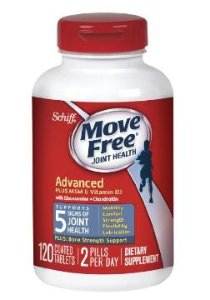 $19.79 Move Free Advanced Plus MSM and Vitamin D3, 120 Count