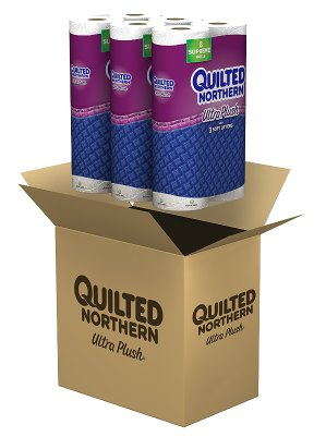 $19.83 Quilted Northern Ultra Plush Toilet Paper, 24 Supreme
