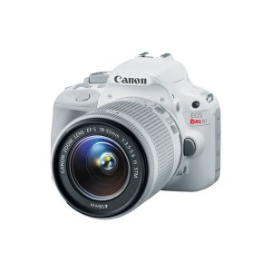 EOS Rebel SL1 with 18-55 IS STM Lens Kit White Refurbished