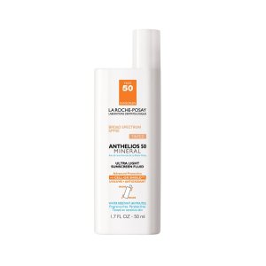 La Roche-Posay Anthelios 50 Mineral Tinted Ultra Light Sunscreen Fluid   SkinCareRx.com