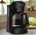 $11.99 Black & Decker DCM600B 5-Cup Coffeemaker