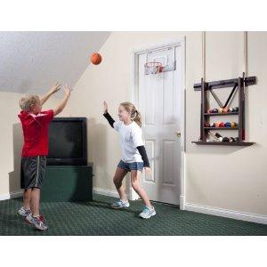 Spalding NBA Over-The-Door Mini Basketball Hoop