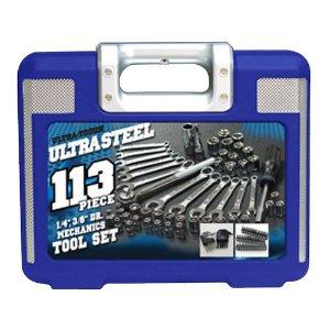 $18.7Ultra Steel 113-pc Mechanics Tool Set